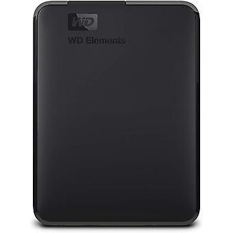 Wd 2 tb elements portable external hard drive - usb 3.0