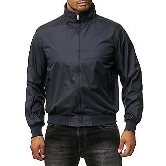 Мужская Tansition куртка Zip ветровка бомбардировщик Blouson Ветер внутри карман