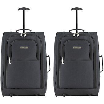 Valise de cabine Pinel 55x40x20cm x 3