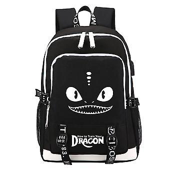 Dragon lysande School Ryggsäck