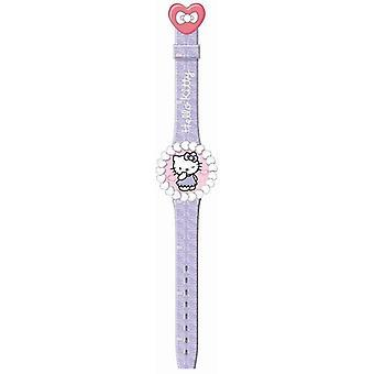 Hello kitty watch flip top watch hk25907