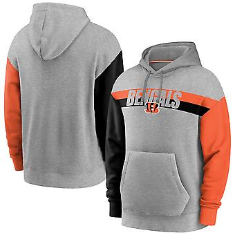Men's Cincinnati Bengals Pullover Hoodie Hooded Sweatshirt 3WY223