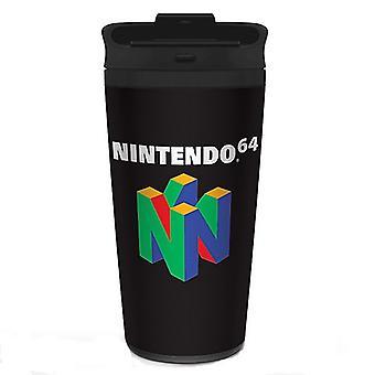 Caneca de Viagem Nintendo N64