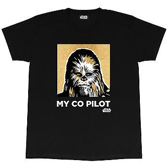 Star Wars Chewbacca My Co Pilot Heren T-Shirt | Officiële Merchandise