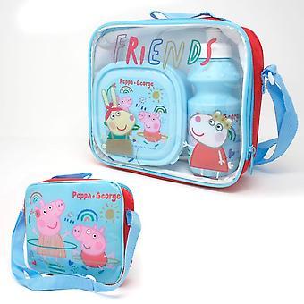 Peppa Pig Childrens / Kids Lunch Set