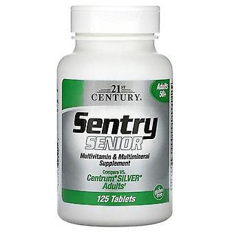 21st Century, Sentry Senior, Multivitamin & Multimineral Supplement, Adults 50+, 125 Tablets