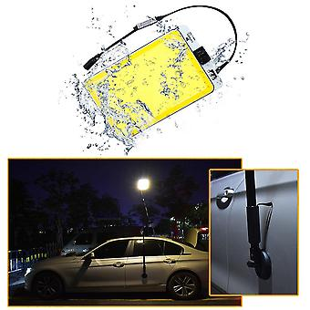IPRee 6900LM 1000W LED COB Mobile Car Light 3 Modes IP67 Waterproof Camping Night Work Lantern With