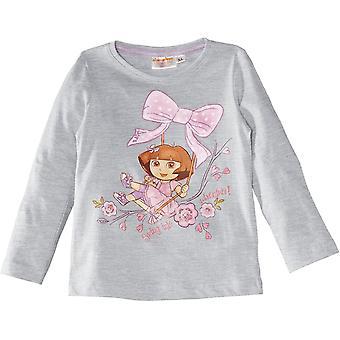 Girls Dora The Explorer Long Sleeve Top