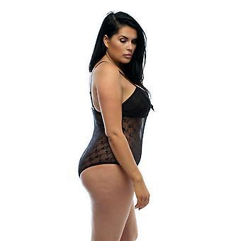Luxury Black Lace Body M/l, Xl/2xl