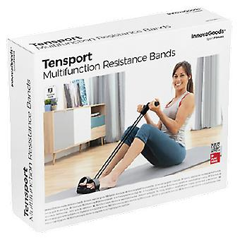 InnovaGoods Elastic Multifunction Resistance Bands