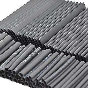 127 Pcs/set Heat Shrink Sleeving Tube Assortment Kit Electrical Insulation