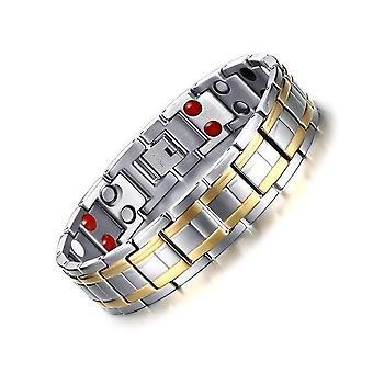 Hommes de bracelet magnétique de titane