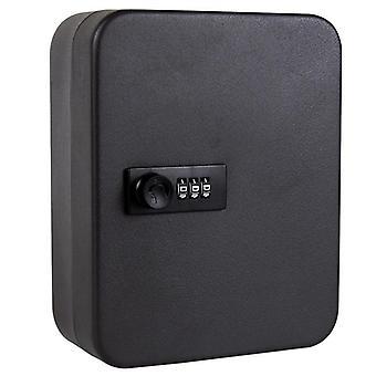 Multi Keys Safe Storage Box, Combination/key Lock Spare Car Keys Organizer Box