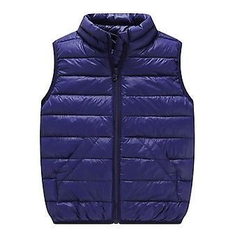 Child Waistcoat Winter Coats Outerwear Warm Cotton
