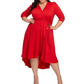 Kiyonna | Winona Wrap Dress