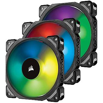 HanFei ML120 PRO RGB LED 120 mm PC-Gehuselfter (mit Magnetschwebetechnik, PWM, mit Lighting Node und