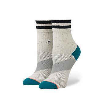 Kvinders sokker holdning stribe roll manchet fodlænke reserve wo's w425c16str