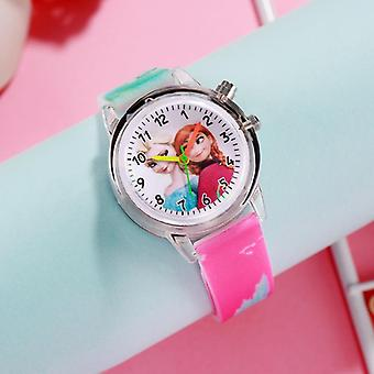 Children Watches, Spiderman Colorful Light Source, Watch,, Kids, Party Clock