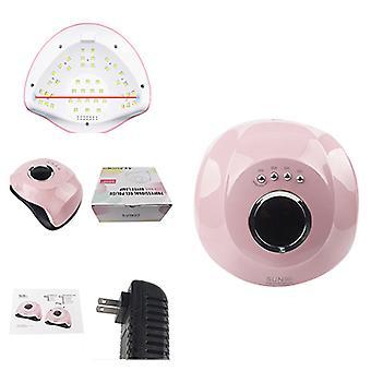 Lámpara de uñas LED UV de 180W, secador de uñas de gel de 45 luces LED