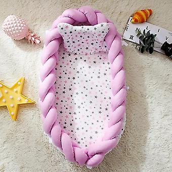 Cama Nido de bebé con almohada cama portátil de viaje de cuna.