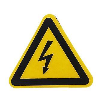 Предупреждение наклейка Клей этикетки Электрический удар опасности Опасности Уведомление безопасности