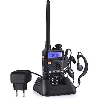 FengChun Walkie Talkie UV-5R Dualband 65-108 MHz VHF / UHF mit Walkie Talkie Netzteil LED FM 128