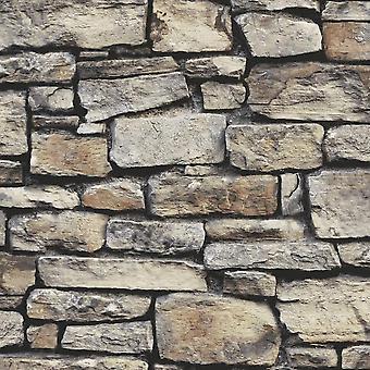 Cornish Stone Natürliche Tapete