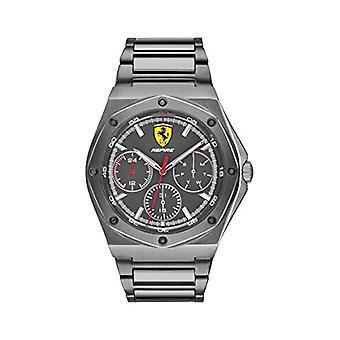 Scuderia Ferrari Analog Watch Quartz Man with Stainless Steel Strap 0830695