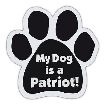 """المغناطيس ، مخلب الكلب ، كلبي هو وطني ، 5.5 """"X 5.5 """"â"""