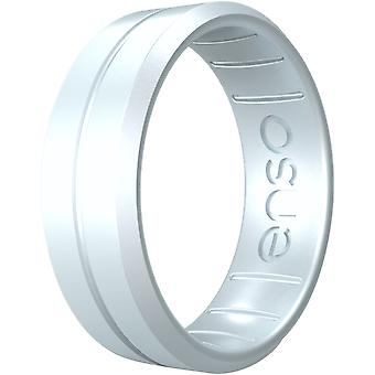 Enso Rings Classic Contour Elements Series Silicone Ring - Diamante