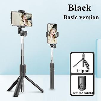 Selfie Stick Led Ring Light Extendable Live Tripod Stand 3 In 1 With Monopod