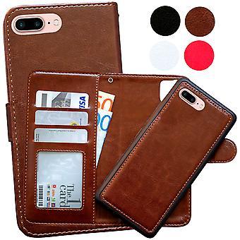 IPhone 7 plus/8 plus tegnebog taske/magnet shell