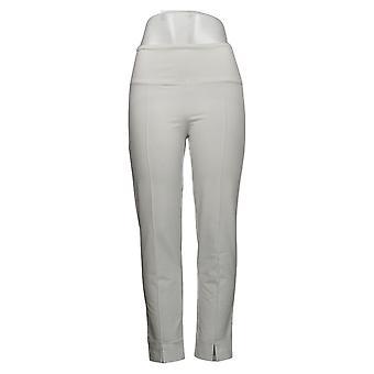 Femmes avec contrôle Shapewear ventre Cntrl Front Slit Pantalon Blanc A381521