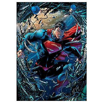 DC Comics - Superman Fury - 1000 piece puzzle