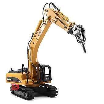 New Children's Simulation Engineering Vehicle Building Alloy Demolition Machine Model 1:50 ES11453