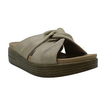 Donald J Pliner Womens Freea Fabric Open Toe Casual Slide Sandals