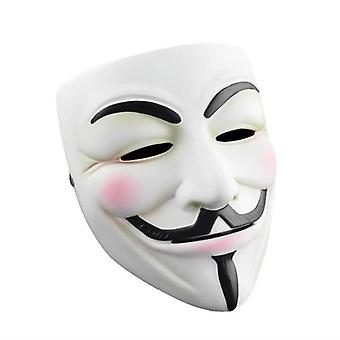 V Pour Vendetta Masque Guy Fawkes Halloween Mascarade Party Face Costume Venise Mardi Gras Style B