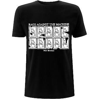 Rage Against The Machine - Post No Bills Unisex Small T-Shirt - Black