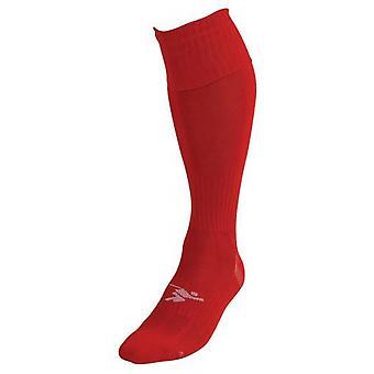 PT Plain Pro Futbalové ponožky Boys Red