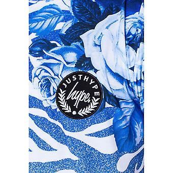 Hype Childrens/Kids Floral Zebra Fade T-shirt
