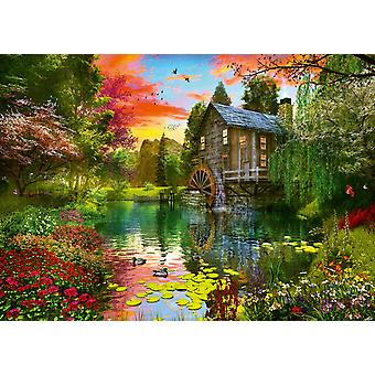 Schmidt The Watermill  Jigsaw Puzzle (1000 Pieces)
