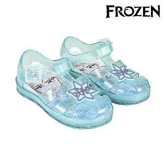 Sandalias de playa congeladas 74418 Azul