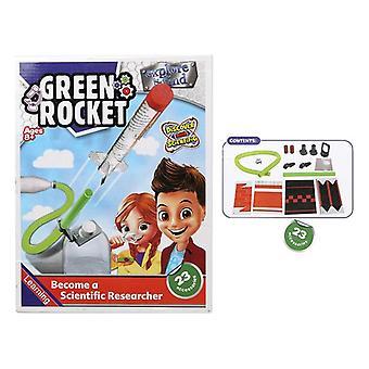 لعبة تعليمية صاروخ أخضر 118100