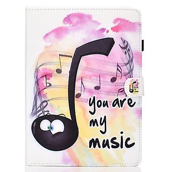 Case For Ipad Pro 12.9 2018 Cover With Auto Sleep/wake Pattern Magnetic - Music