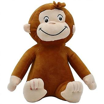 Curieux George Doll Jouet Elf Holiday Monkey Peluche animale farcie / 30cm