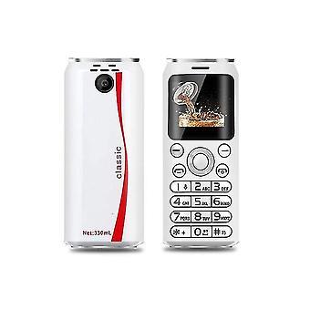 Mini Mobiltelefon SATREND (Vit)