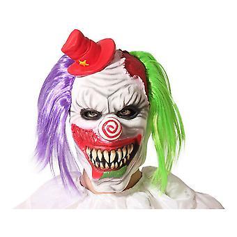 Mask Halloween Evil Male Clown