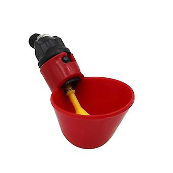 Chicken Nipple Water Cup Drinking Bowl For Backyard Flock Poultry Watering