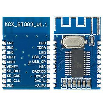 Kcx bt003 bluetooth kompatibilní 5.0 audio přijímač modul bezdrátové obvodové desky stereo integrované obvody
