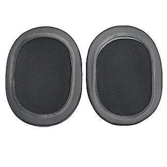 Headphone cushions tips 2pcs soft sponge earmuff headphone jacket for ath-msr7 m50x m20 m40 m40x